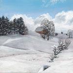 Schnee bei Hinterzarten