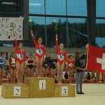 P4 Einzelwertung: Isabelle Bronze / Mannschaftswertung Gold Uster 2007