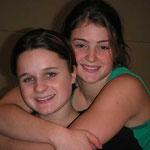 Weihnachtsturnen 2002 - Anja und Zoe