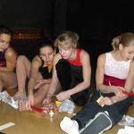 Weihnachtsturnen 2008 -  Bigna Lia Isabelle Stephanie