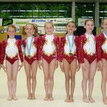 Aargauer Kutu Tage 2009 - Team P1 (v.l.n.r. Juliette Sandra Sofia Noemie Janice Marika Luisa)