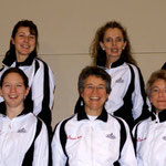 Trainerinnen 2007 hinten Sarah Alexandra Roswitha - vorne: Manuela Judith Raingard Kathrin Chantal