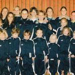 Weihnachtsturnen 2002 - Gruppenfoto