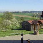 Ausblick FeWo und Umgebung Bernhardswald