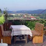 Gemütliche Terasse Ferienhaus Reisinger