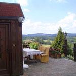 Terrasse Ferienwohnung Reisinger