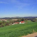 Ausblick Ferienhaus Reisinger