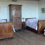 Chambre des lits bateaux, 1er étage