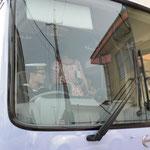 海上自衛隊のバス