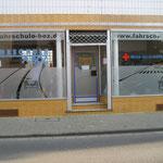 Bsp. Schaufensterbeschriftung in Neu-Isenburg, Fahrschule, Rhein-Main