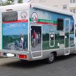 Fahrzeugbeschriftung in Langen, Rhein-Main-Gebiet