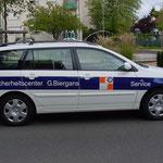 Fahrzeugbeschriftung in Frankfurt Rhein-Main-Gebiet