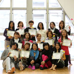 Many congrats to the brand new GYROKINESIS trainers - well done everyone! 無事ジャイロキネシストレーナー養成コースを皆で修了することができました!