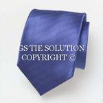 Gewebte Ottoman Seiden Krawatte in blau in Seide