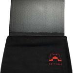 Weihnachtsgeschenk Kunden Winterschal Seidenschal mit personalisierter Verpackung