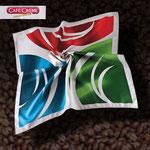 Satin Seiden Tuch Cafe Creme