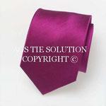 Gewebte Ottoman Seiden Krawatte in Pink in Seide