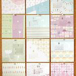 2006 手作りカレンダー