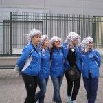 Les pompom girls de l'UAC