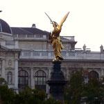 Der Engel auf der Mölkerbastei