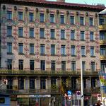 Jugendstilhaus auf der Wienzeile