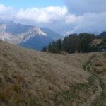 Bei Corte Nuovo unterwegs zum Monte di Comino