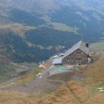 Sardonahütte über dem oberen Calfeisental