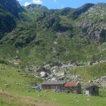 Alpe Barranca, wunderschöne Lage, hervorragendes Essen