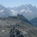 Gipfelblick vom Cheval Blanc