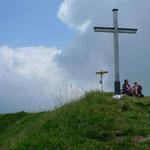 Gipfelkreuz des Monte Boglia