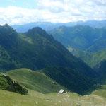 Blick von der Bocchetta di Rimella nach Südwesten