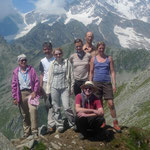 Gipfelerfolg an der Cima del Tiglio