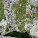Steilstufe im Vallone di Valsoera
