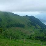 Buochserhorn mit Wolkendeckel
