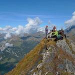 Auf dem Gipfel des Mittetaghorns