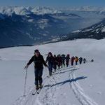 Aufstieg zum Mattjischhorn