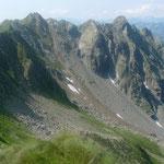Steile Gipfel beim Il Cimone