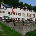 Albergo Lepontino auf der Alpe Veglia