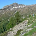 Unterwegs zur Bocchetta di Doia