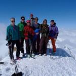 Auf dem 3174m hohen Gipfel