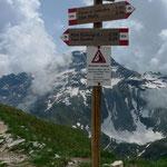 Auf der Scatta d'Orogna, 2461m