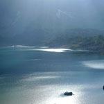Spiegelungen im Lac Salanfe