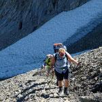 Aufstieg zum Pas au Taureau