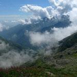 Sommerwolken über dem Valle Cervo