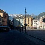 Fussgängerzone in Aosta