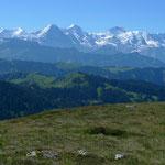 Berner Alpen vom Hohgant