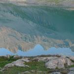 Dents du Midi spiegeln sich im Lac Salanfe