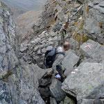 Aufstieg zum Passo del Laghetto