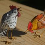 coq,poule 10 cm