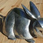 Lapin zinc brut 24 cm